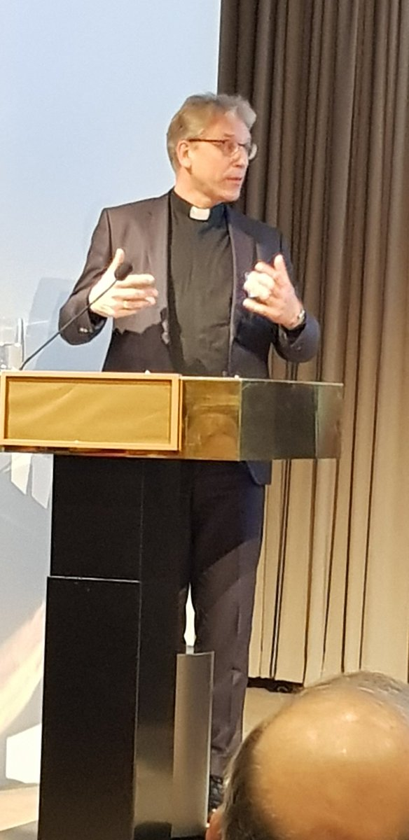 Rev. Olav Fykse Tveit, Gen Sec of @Oikoumene talks to #HLPF19 Kofi Annan Faith Briefings about how churches support the Rights of the Child #CRC. Children really have something to say if we just listen to them and learn from them.