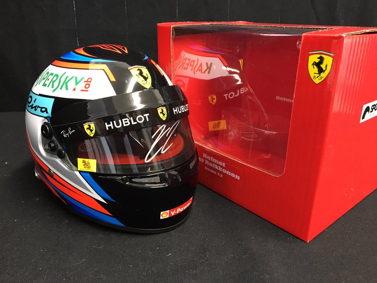 UPDATE: Many of the items from our Kimi Räikkönen signing have already sold out, these are available, but be quick..!