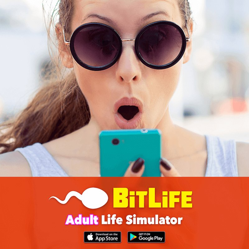 Telling you right now that BitLife will be the game of the year. Play it with me!  http://www. bitlifeapp.com     <br>http://pic.twitter.com/XFHHtxdBys