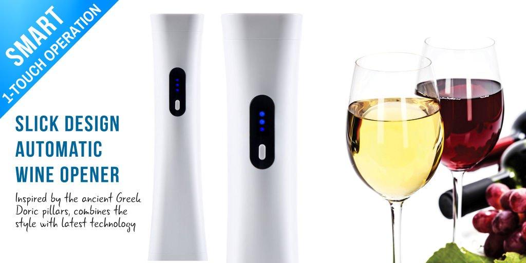 Electric Wine Bottle Opener Corkscrew Automatic Champagne Bottle Opener Kit LY
