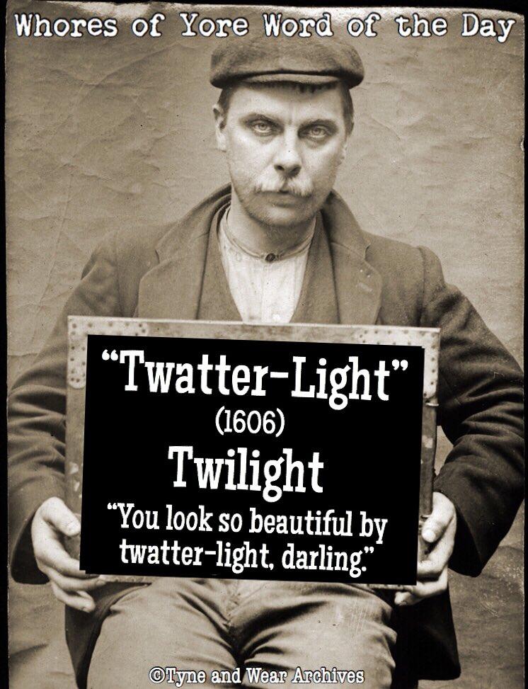 """RT @WhoresofYore: Word of the Day: """"Twatter-Light"""" https://t.co/4fvnpj3LKe"""