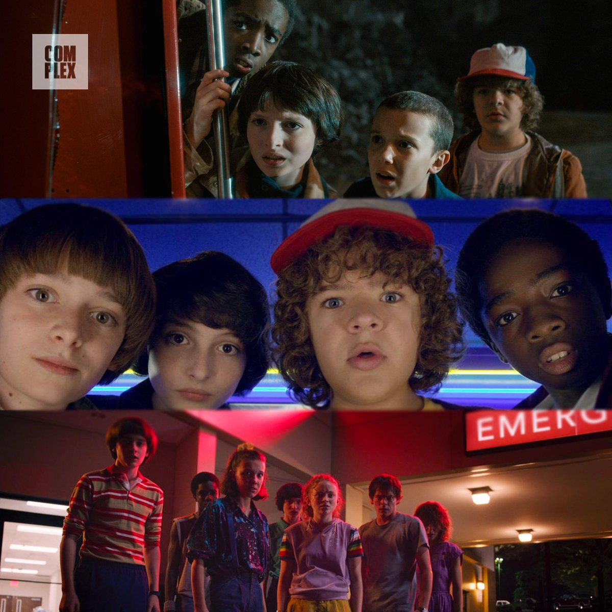 #StrangerThings throughout the seasons. Which one was your favorite?