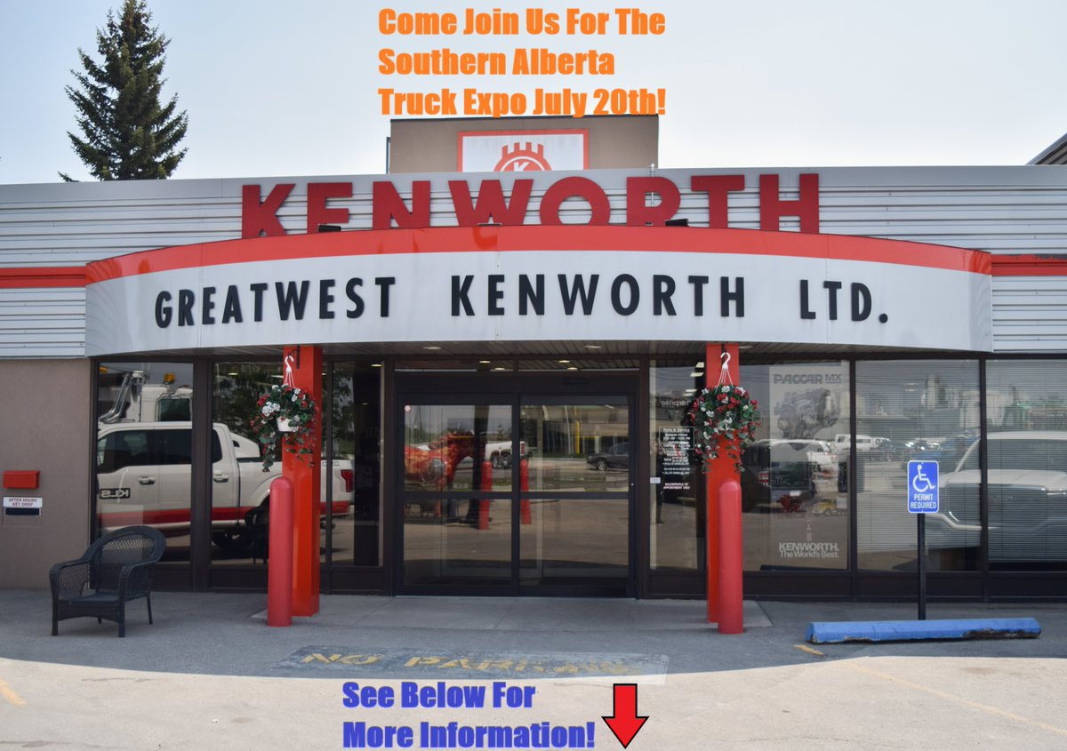 Stop by and give us a visit this Saturday on July 20th! This is an excellent non profit organization based around making a difference in the trucking industry! Address: Lethbridge Exhibition Park 3401 South Parkside Dr. S Lethbridge, AB Canada T1J 4R3 #trucking #kenworth #class1