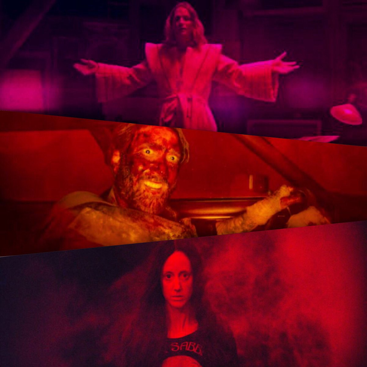 Use of color in #Mandy (2018) #horror #movies #color #cinema #horrormovies #nicholascage