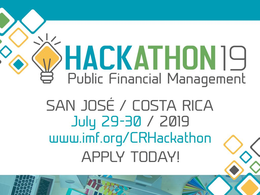 Do you want to help transform #CostaRica's 🇨🇷 social payment systems through #technology & present your innovative solution during the IMF's Annual Meetings? Apply NOW to the Public Financial Management #Hackathon 👇 http://ow.ly/19tU50uWup4   #PFM #IMFMeetings @HaciendaCR