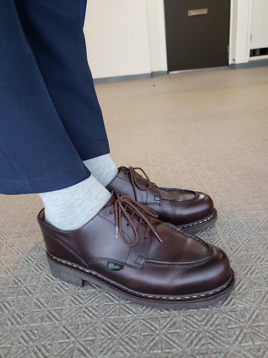 今週はパラブーツ率が高そうです。 ローテを上手くしないと。 ・ #paraboots #chambord #briefing  #neotrinityliner #パラブーツ #シャンボード #ブリーフィング #あしもとくらぶ #あしもと倶楽部 #革靴好きと繋がりたい #足元倶楽部 #靴磨き #革靴 #一生モノ #一生モノコレクター