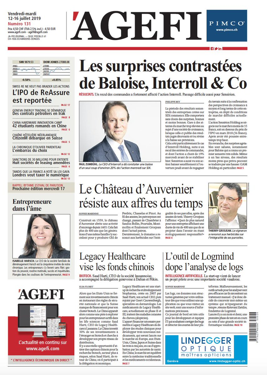 We are excited to be featured on the front page of @Ageficom. In this article, you can read about our mission and unique approach in solving a big problem IT teams face from large organizations. #logmind #loganalytics #bigdata #AI #VDtech