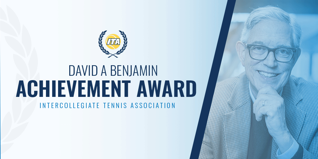 Congratulations to Wildcat alum Doug Conant (73 & 76) on being named the 2019 ITA David A Benjamin Award Winner 📰: bit.ly/2Y76cfJ