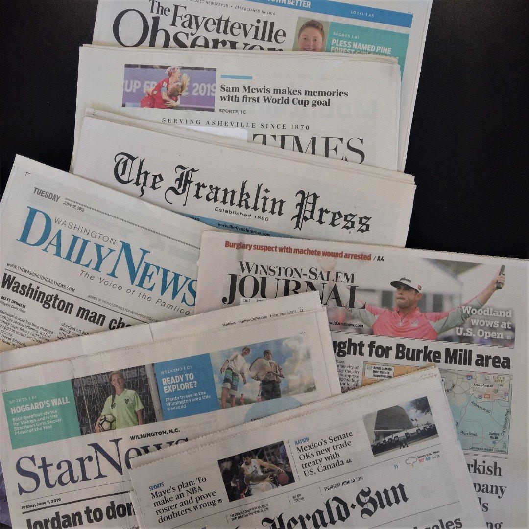 North carolina amateur newspaper babes rise