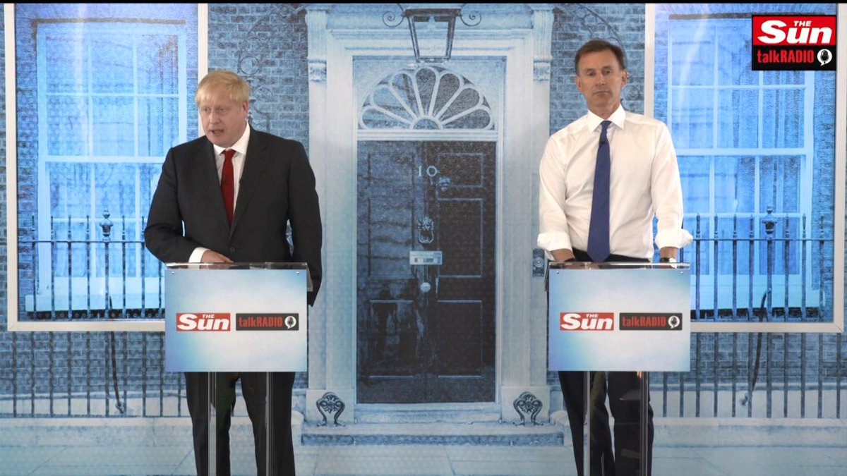 "Both Boris Johnson and Jeremy Hunt condemn Donald Trump's comments telling four congresswomen to go back to the ""broken and crime infested"" countries they came from, but refused to call the President racist.  @Jeremy_Hunt 
