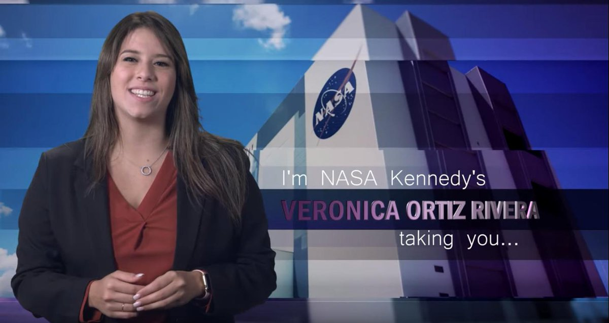 @NASAKennedy intern, Veronica K. Ortiz Rivera✨, was the host of Inside KSC last week. Her story coverage included a water flow test reaching a peak flow rate of 1.1 million gallons per minute! 💦#NASAinterns Check out her coverage📷: youtu.be/v9Gjp65MZj0