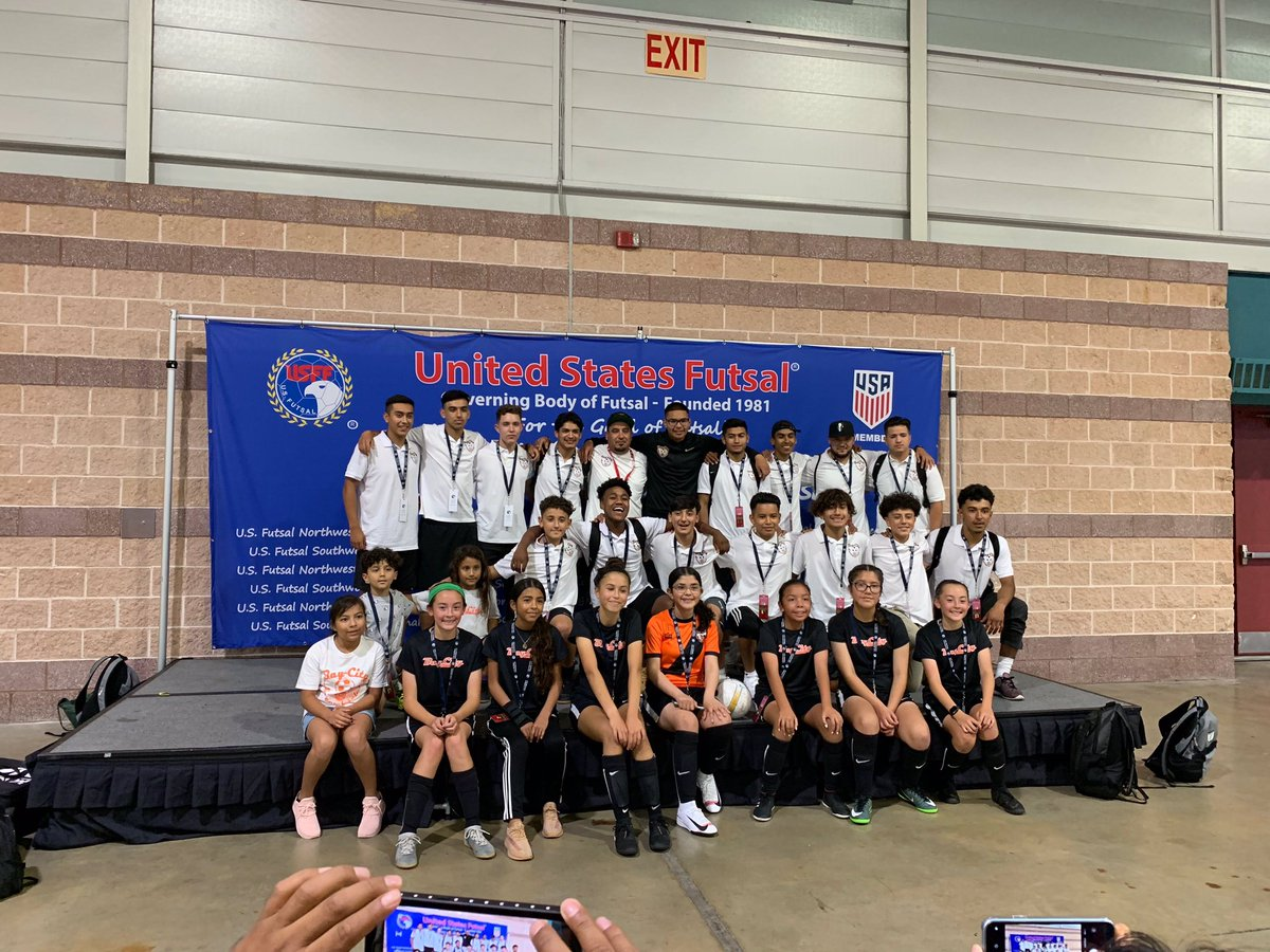 Results from Atlantic City, NJ as our partner #BayCity traveled to the East Coast for @usfutsal Nationals. Congrats on a successful tournament! ⚽️ U-13 Girls: Group Stage ⚽️ U-13 Boys: Semifinals ⚽️ U-19 Boys: Semifinals ⚽️ Pro First Team: Quarterfinals  #uptheglens #oneofours
