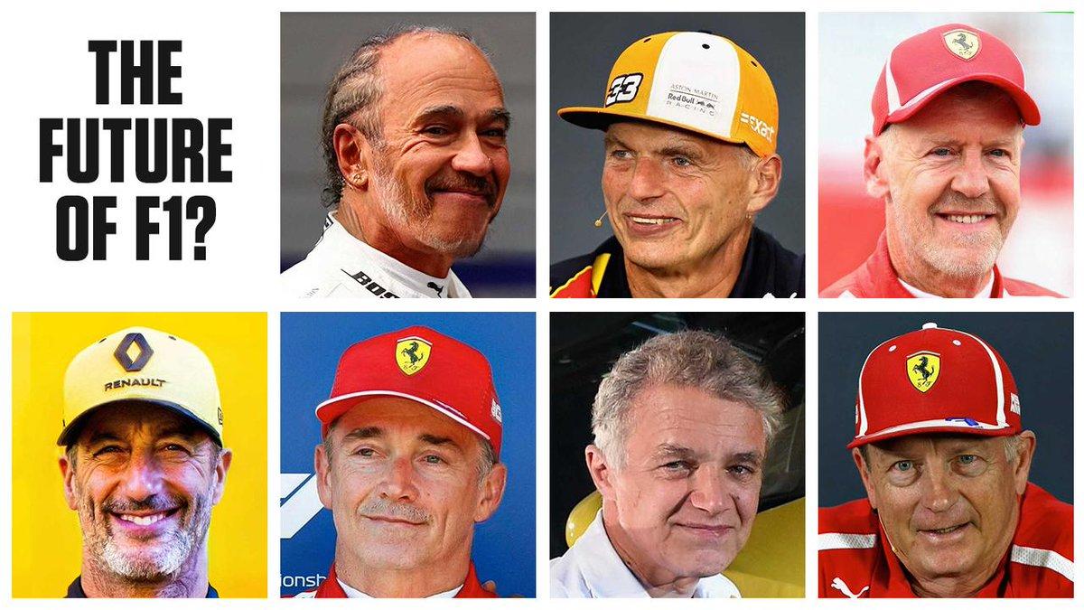 A FaceApp que nos últimos dias varreu as redes sociais. Colocar uma foto e andar 20 anos em frente. Muitos terão pensado em fazer isso aos pilotos atuais da F1. Mas a @ESPNF1 fez.  E então ?