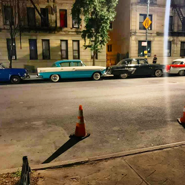 Movie set location with #classiccars in #harlem #nyc😍🗽📸https://t.co/HDy5kD2Xwz https://t.co/LxgCjBOZXG