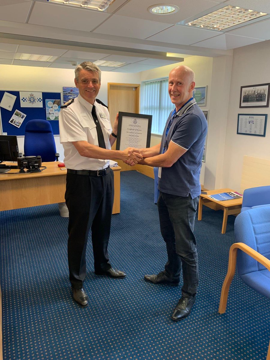 Thank you to Chris Gittens who retires from @Humberbeat next week after 38 years service.   Was great to hear his assessment and feedback as to where we are and wish him all the best for the future.