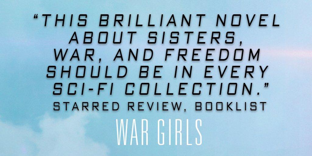 Hey, Booklist said it, not me. #WarGirls indiebound.org/book/978045148…