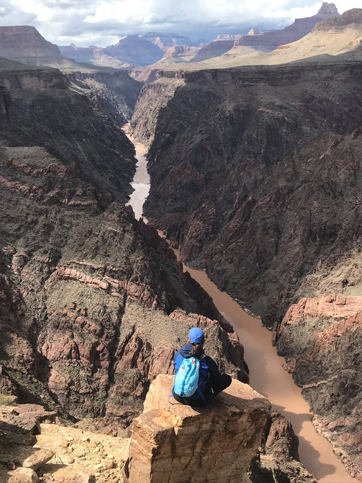 Oh what a view! Book your hiking trip down the #grandcanyon today. Booking for 2019 and 2020. https://fsguides.com  #hikingadventures