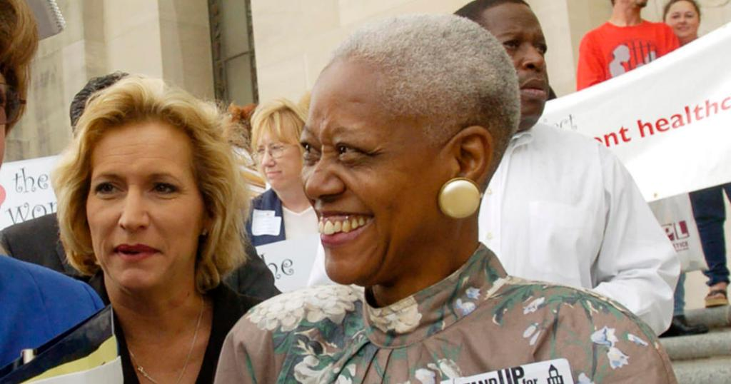 Death of African American history museum founder Sadie Roberts-Joseph is ruled a homicide https://cbsn.ws/2XL1c0N