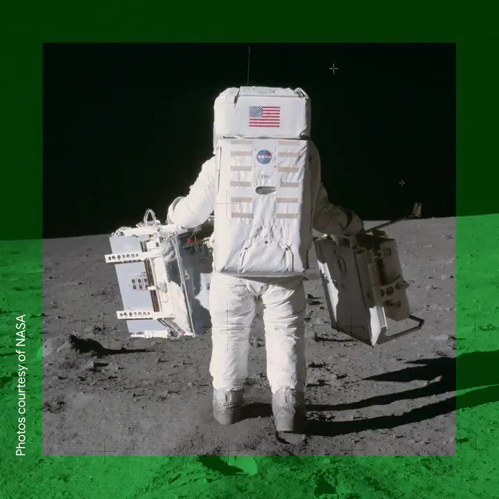 50 years ago, Apollo 11 took a historic journey to the Moon. Go back in time with @googlearts to relive the story of the moon landing through science, tech, art and culture → http://g.co/moonlanding #Apollo50th