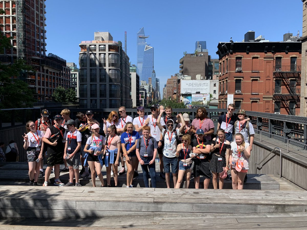 The #CognitaWay Performing Arts Trip to #NewYork is in full swing. Students from UK Cognita schools collaborating, exploring and making memories @Akeley_Wood