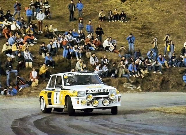 Jean Ragnotti-Jean Marc Andrié Rallye Montecarlo 1983 #rally #ragnotti #andrie #montecarlo #1983 #renault #5turbo #jeanragnotti #wrc #groupb #grupob https://ift.tt/2lobiT0