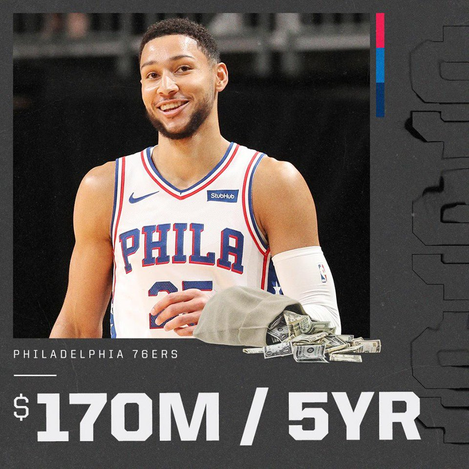 Ben Simmons Contract
