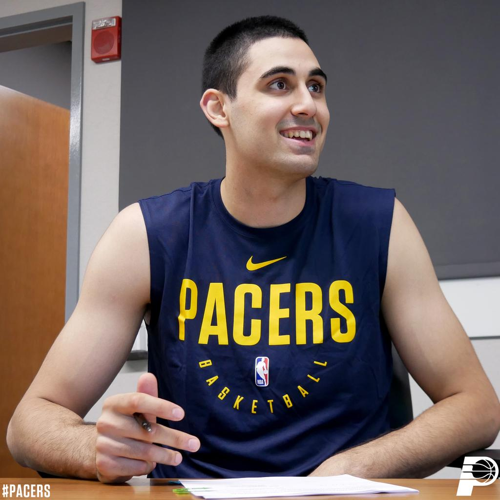 OFFICIAL: We have signed center Goga Bitadze to a contract.   Goga was our 18th pick in the first round of the 2019 NBA Draft. He most recently played with KK Buducnost and earned the Euroleague Rising Star Award for the 2018-19 season.  >> https://on.nba.com/2GeDxLv