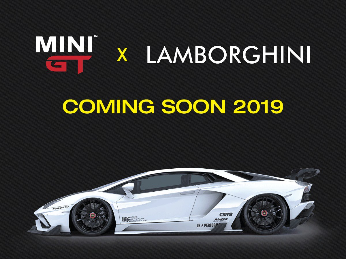 MINI GT is proud to announce an exciting new licensing partnership with Automobili Lamborghini S.p.A to produce a new series of 1:64 models. This series will include not only Lamborghini factory cars, but tuner versions as well. #MINIGT64<br>http://pic.twitter.com/WbdyQmCYqC