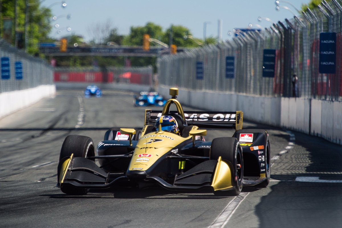 Another new track and experience this weekend @hondaindy Toronto. Difficult but fun track. Unfortunately got hit at the start of the race which put me 4 laps down. When I got going again I had great speed all day and posted the fastest lap of the race! Onto the next one 🤘🏻#ME7