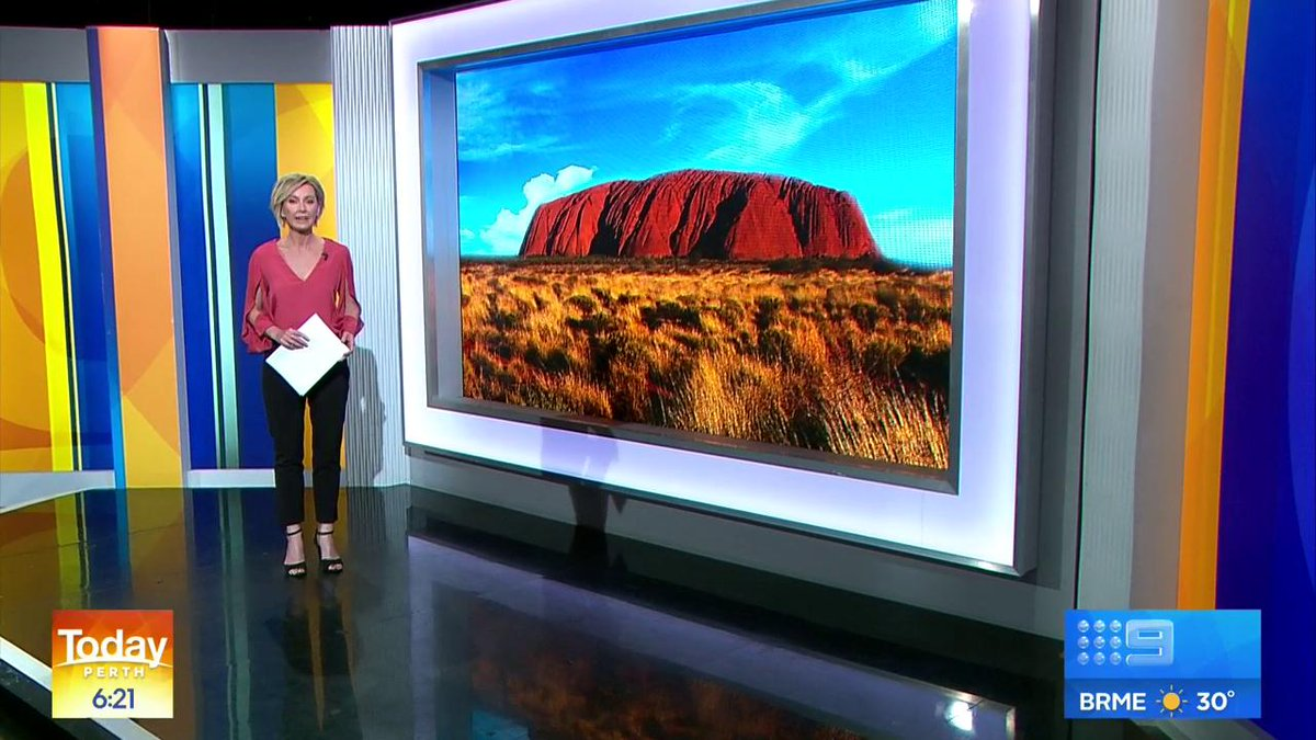 """""""The information that she's providing across the country is nothing short of scare-mongering."""" @Malarndirri19 responds to Pauline Hanson's comments over shutting down climbing on Uluru. #9Today"""