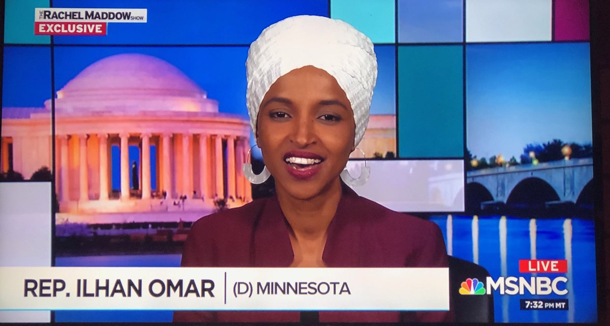 "Representative Omar's 7 year old son asked her ""Does he know he's the President?""  Wise child. No President could possibly be so ignorant. That why we call him Resident, not President. #IlhanOmar #ResidentEvil"