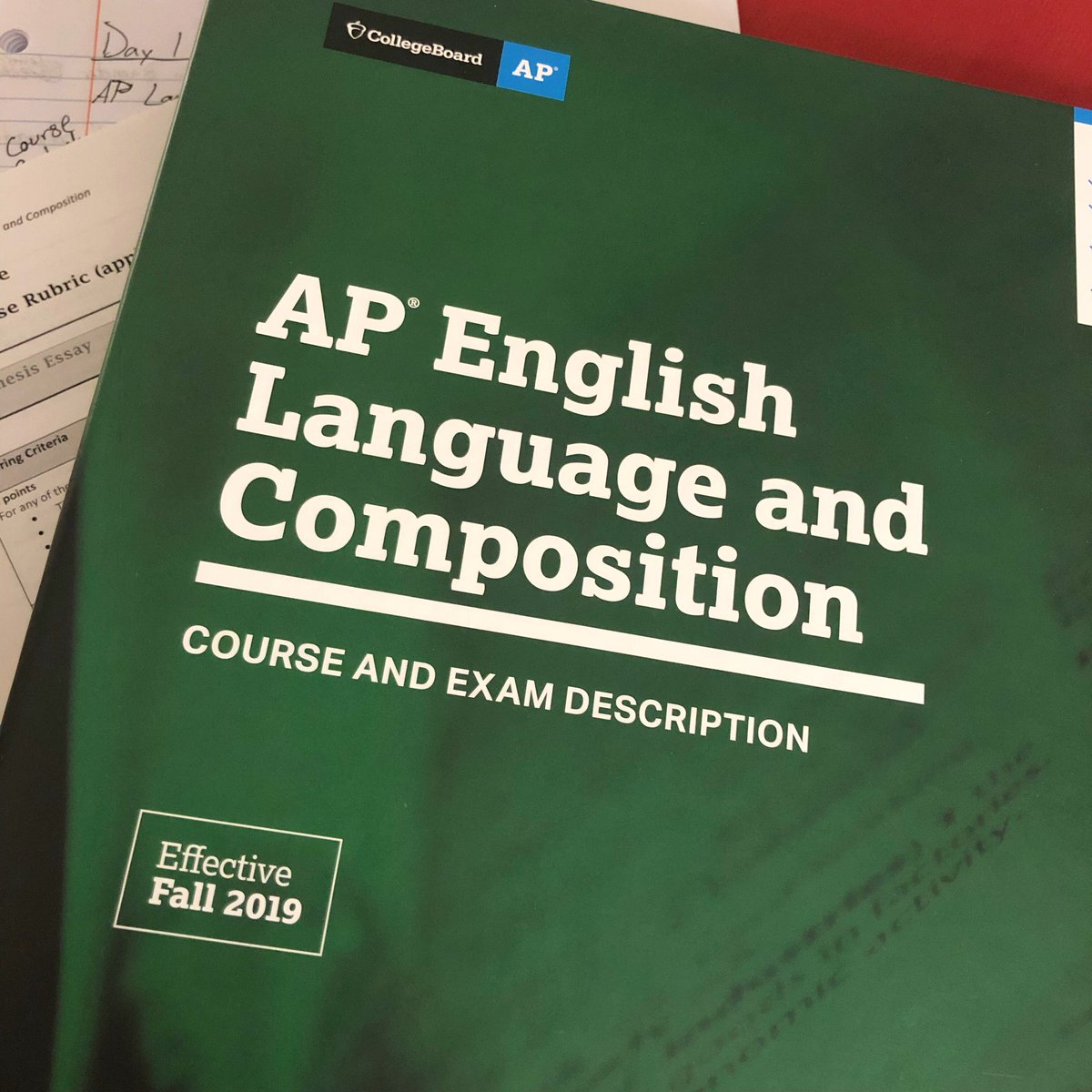 Day 1 of #APLang Training at #BallState was a success! Now, time to do the homework  #TeachersDoHomeworkToo<br>http://pic.twitter.com/cUv7K8x6hl