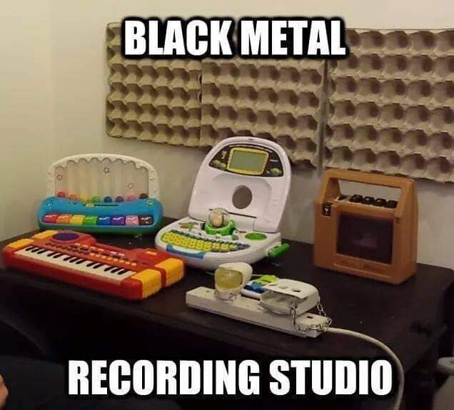 Going to start writing my cover for the RE3:Nemesis End Credits theme this week, it's gonna be a challenge but I'm sure the end result will be worth the trouble and effort #re3 #residentevil3 #residentevil #capcom #blackmetal #homestudio #meme