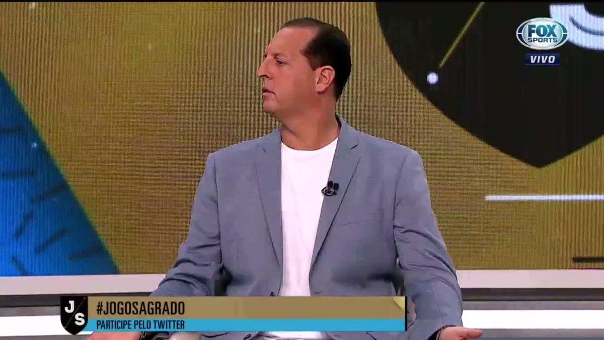 @FoxSportsBrasil's photo on Andrés Sanchez