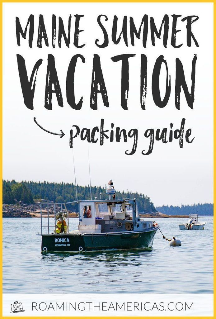 Just Pinned to PINWORTHY: TRAVEL : https://ift.tt/2XeJHT0 #travel #tlpicks #travelblogger #travelguide Planning a Maine summer vacation and wondering what to pack? Here's an in-depth packing guide (from a local!) along with tips on what to wear in Maine.  | New England travel …