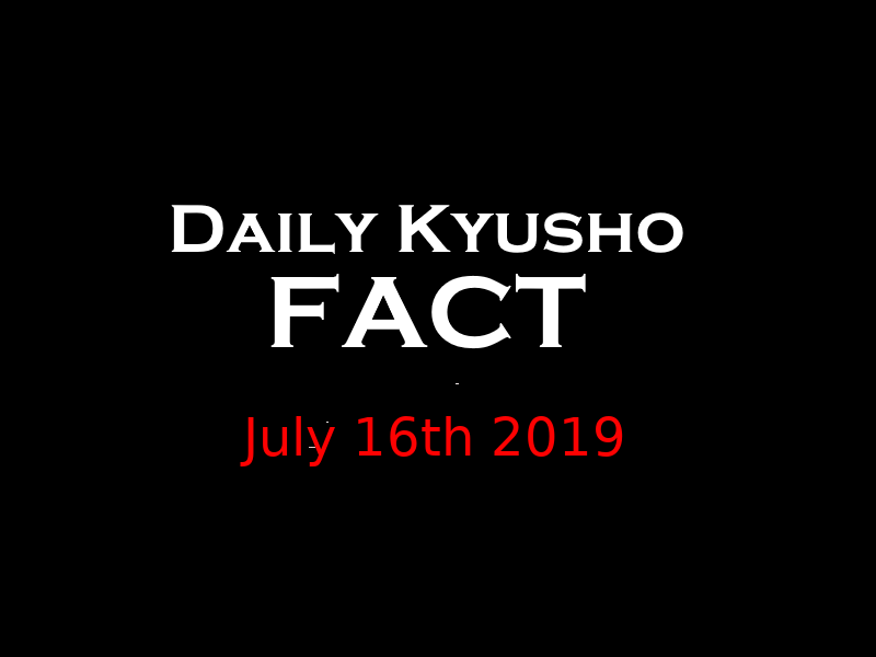 Here is the Daily Kyusho Fact for July 16th 2019 #kyusho #kyushojitsu #pressurepoints #selfdefense #martialarts https://www.youtube.com/watch?v=Kp3jhBxCgbg&feature=youtu.be …