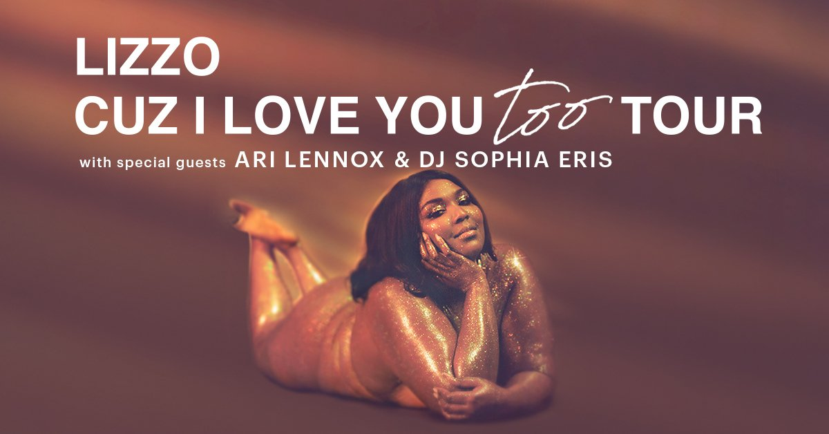 SUPPORT UPDATE: @AriLennox and DJ @SophiaEris will support @lizzos Cuz I Love You Too Tour here at Radio City on September 22 & 24! ✨