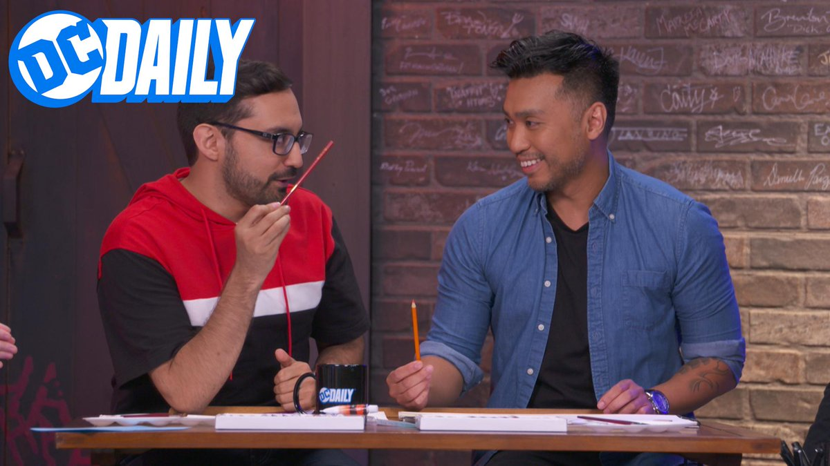 Get your watercolors ready, we're learning some coloring techniques with @FrancisManapul on today's #DCDAILY! https://yourdcu.com/dcd208