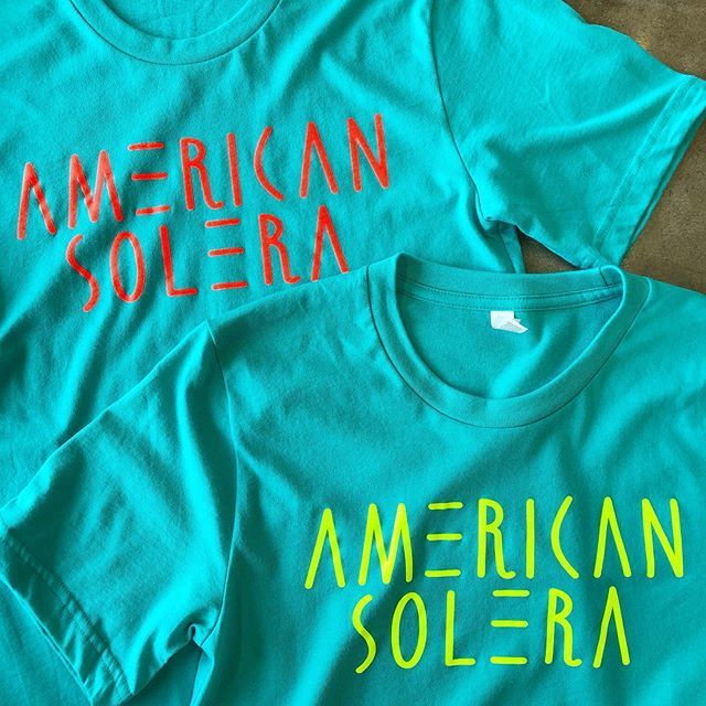 @americansolera is not here for subtly, they are here with the bold flavors and fluorescent colors 😎 . . . #flashfloodprint #screenprinting #customprinting #printlife #tulsa #oklahoma #color #localbeer #americansolera #bellacanvas https://ift.tt/2jY6Qu7