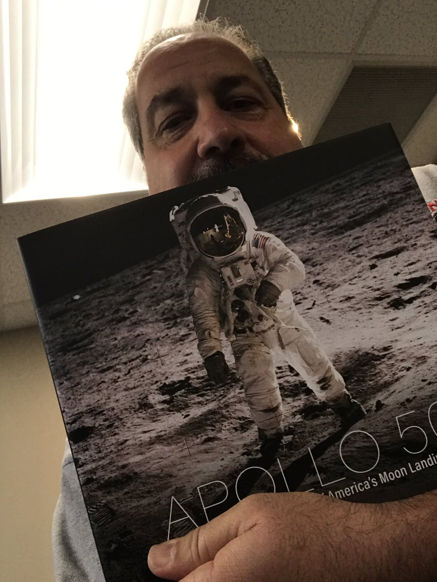 One again we are giving you the chance to win this #awesome book as we begin #Apollo11 week @news965wdbo #OEN #Orlando #NASA #space #Florida
