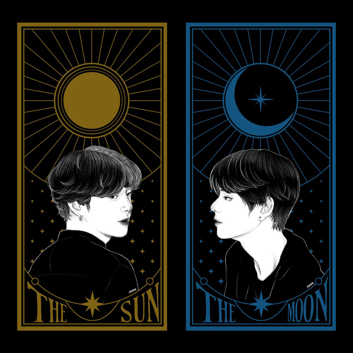 Destiny  #BTS #JK #V #TAEHYUNG #JUNGKOOK #sketch #design #illustration #art https://t.co/NKeXWQRar0