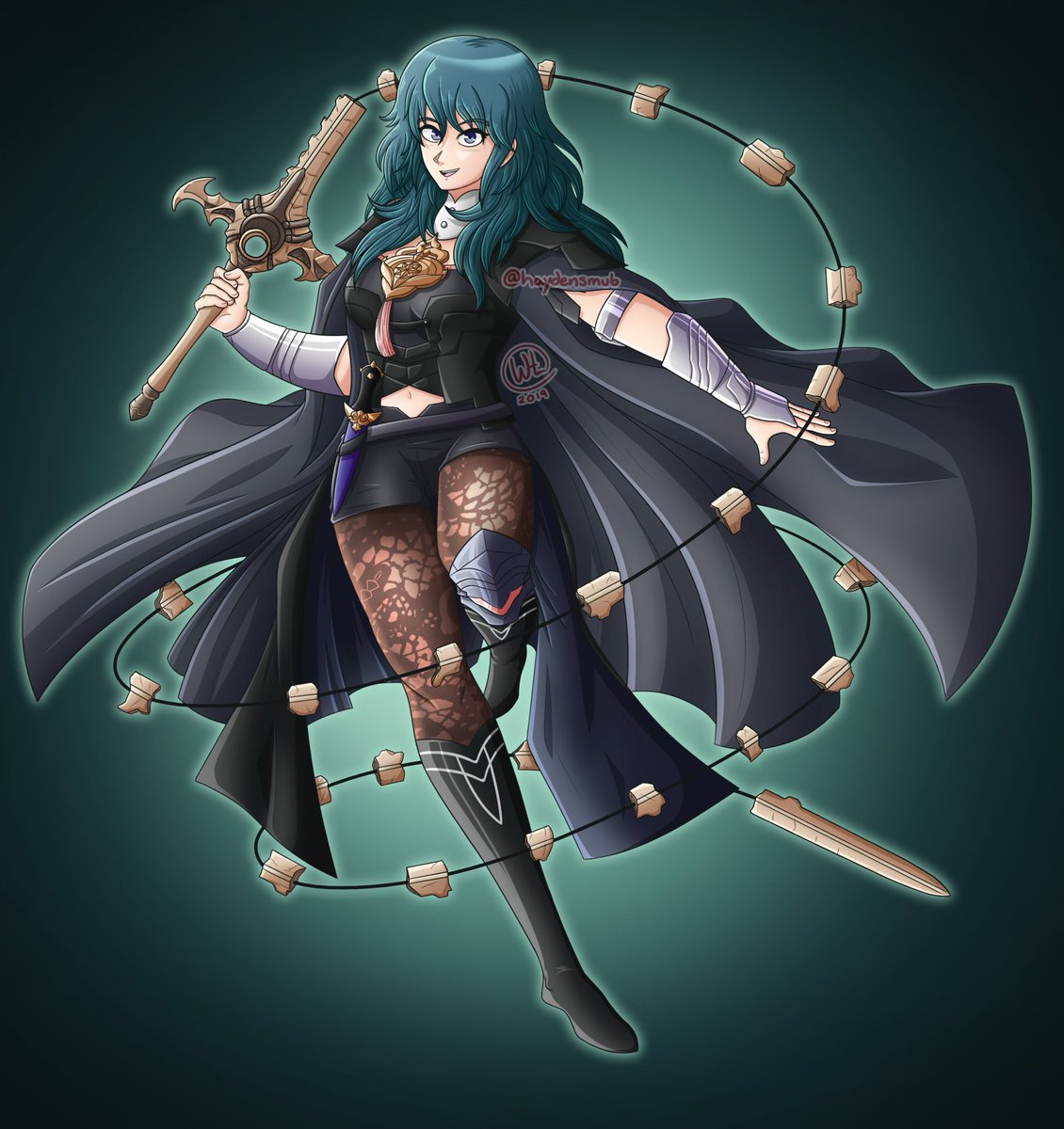 byleth from #fireemblem: three houses!