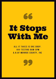 It stops with you! Come by AH for your #FREE #HIV test this week.  #Awareness #prevention #KeyWest https://t.co/UjHAs9tLiM