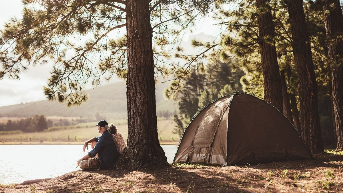 We love #camping. Life is pretty good in the woods, it's the best therapy.