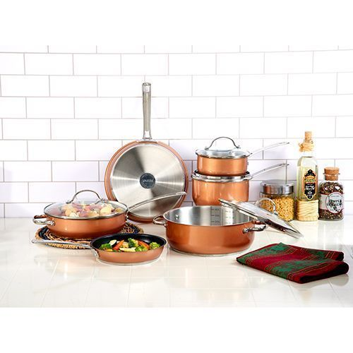 #mens #travel #apparel #shoes #college #shop #business #shopping #maternity #headphones #indiedev #gamedev #win #tips #deals #sale #deal #tip #shopsmall WebDEALS @ Boscov's | Shop Now! Oneida 10pc. Stainless Steel Cookware Set with Copper Finish http://bit.ly/2J8VflC