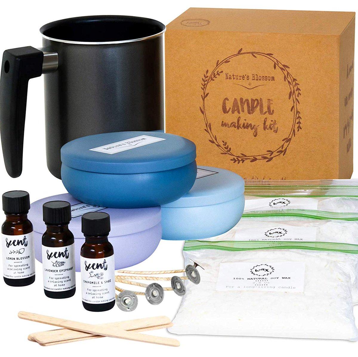 What a lovely #giftidea!! Save $25 off the candle making kit!! > https://amzn.to/2lzLPpY #primeday2019 #AmazonPrimeDay #AmazonCanada