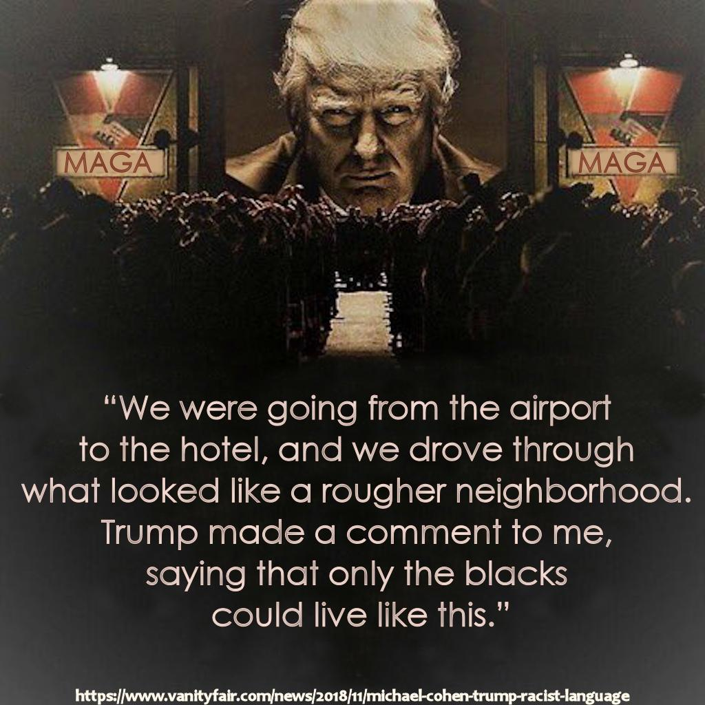"""They were not simply """"spiteful comments."""" They were racist comments. Calling them """"spiteful"""" minimizes them. They are racist comments from a racist. Say it is racist and do something about it. A racist should not be in the @WhiteHouse, and Trump has been a racist all his life."""