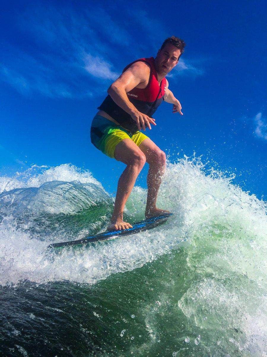 Awesome surf weekend with @amanda_newmn 🏄🏻♀️🏄🏼♂️  #Workhardplayhard #Adventure #Travelgram #Businessowners #Motivation
