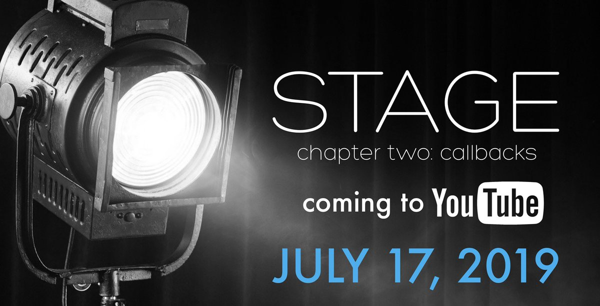 in two days. our STAGE story continues...  #ep2 #callbacks #webseries #life #love #communitytheatre #theater #film #tv #filmmaking #cinematography #newmedia #studio #story #writer #writing #screenwriting #actor #acting #actorslife #director #storytelling #romcom #comingsoon