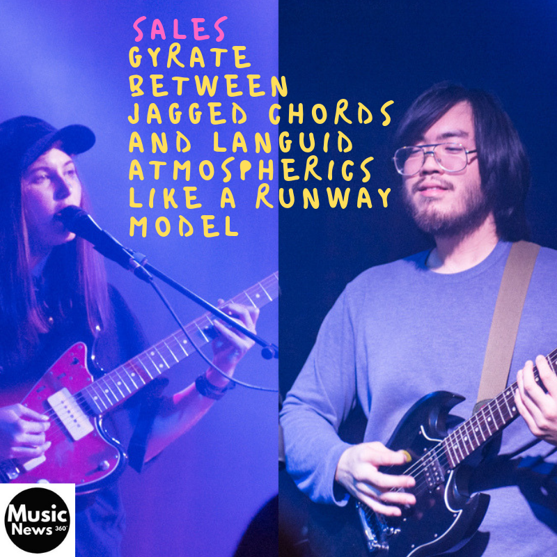 Sales gyrate between jagged chords and languid atmospherics, like a runway model. (@wearenotsales) #musicnews360 #radio #nowplaying #music #musicvideo #newsong #quote #unsignedartist #unsignedhype #inspiration #discover #joy